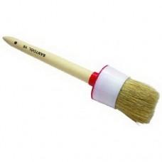 Кисть круглая кр-60 натуральня щетина деревянная ручка