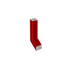 Труба водосточная с коленом