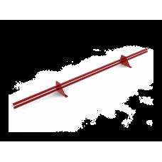 Планка снегозадержателя трубчатого